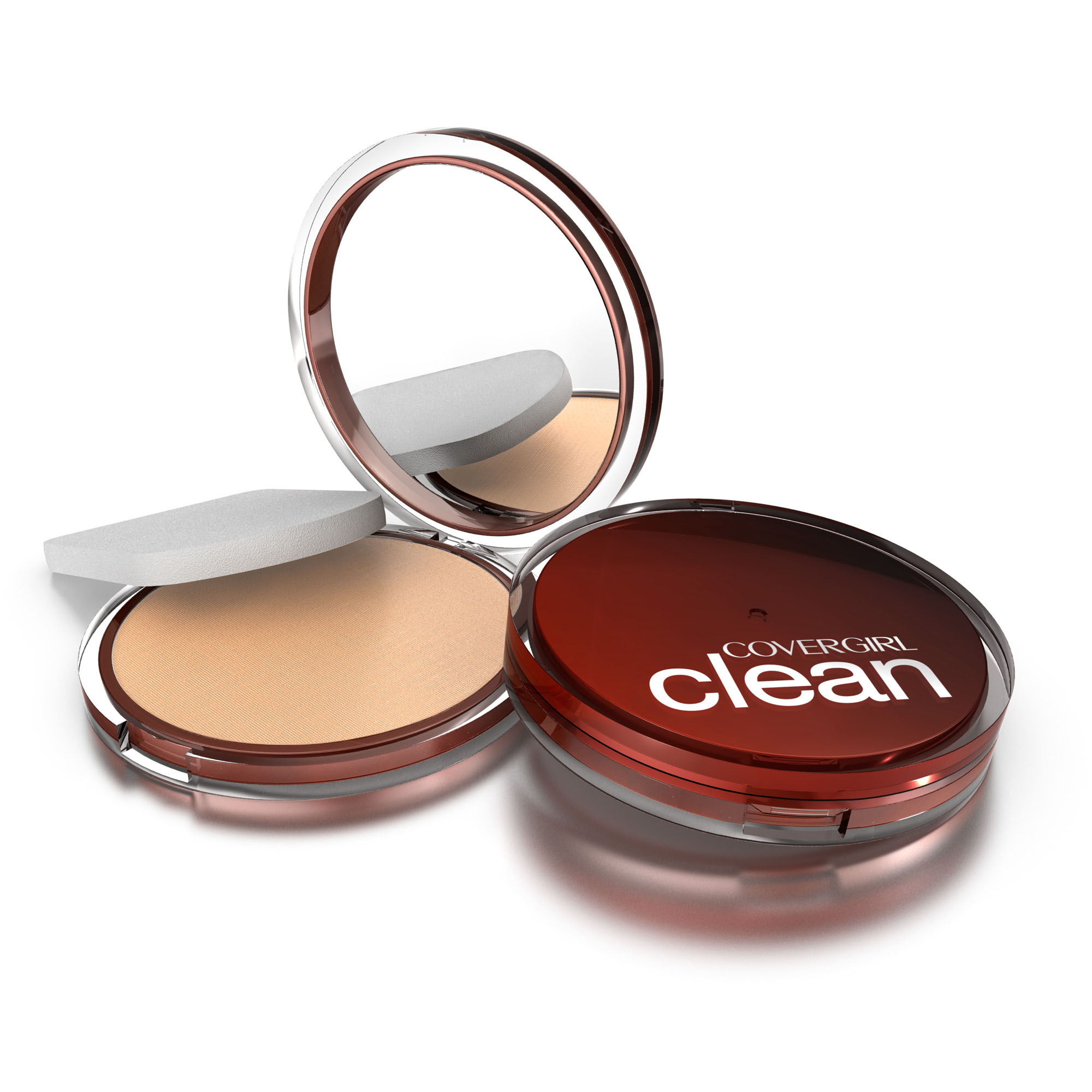 COVERGIRL Clean Pressed Powder, Classic Ivory