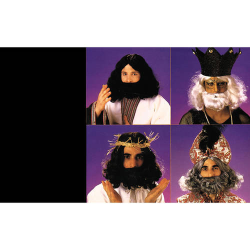 Biblical Beard Wig Adult Halloween Accessory