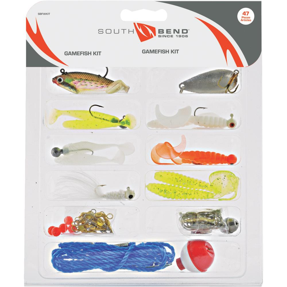 South Bend 47-Piece Game Fish Kit