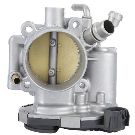 LYUMO Throttle Body Fits for Chevrolet Aveo Cruze Pontiac 55577375 55561495 0281750245, Throttle Body