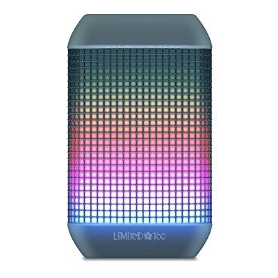 limited too lbt501bl led light up party wireless speaker with lights move to the music, bluetooth & reachable