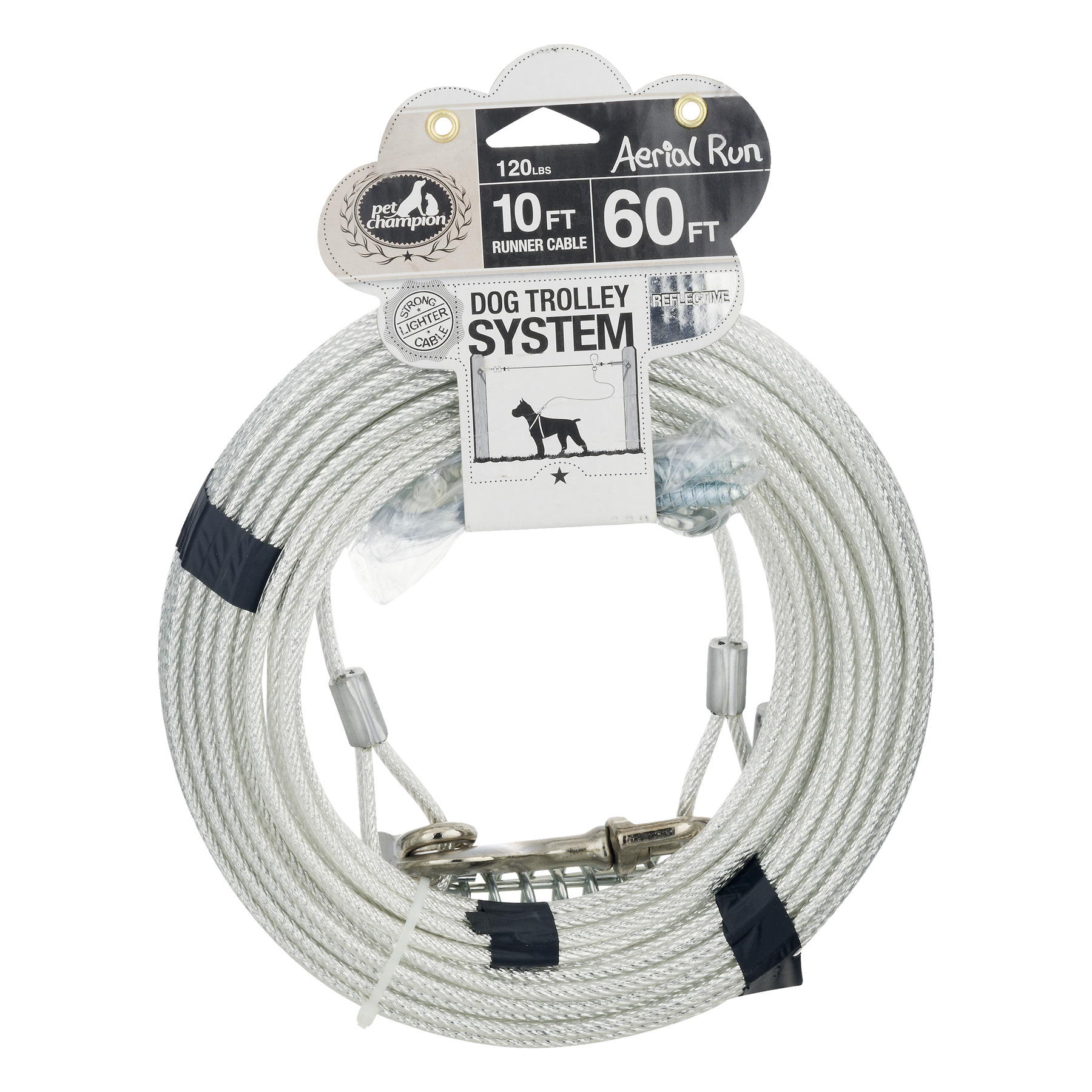 Pet Champion Aerial Run 10 ft Runner Cable