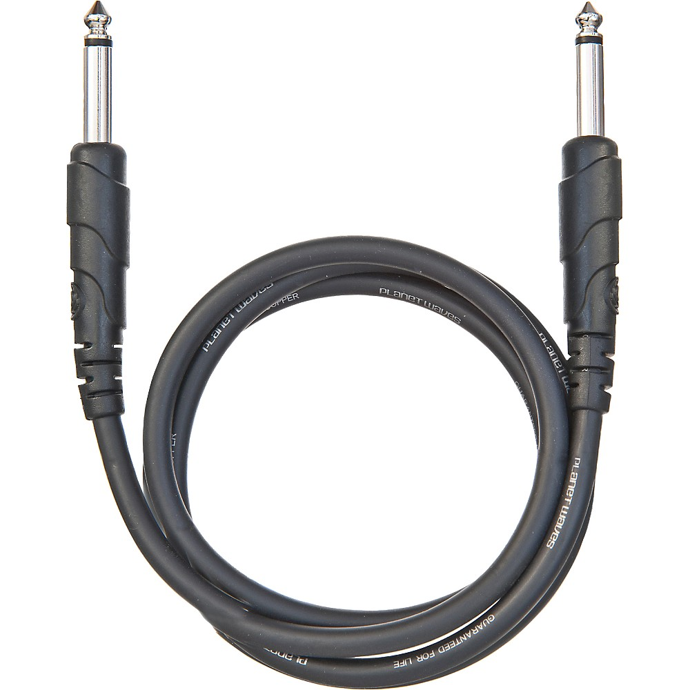 "D'Addario Planet Waves Classic Series 1/4"" Patch Cable 1 ft."
