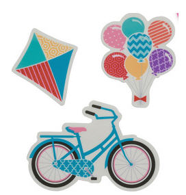 Cake Decoration Bicycle - Gum Paste Bicycle