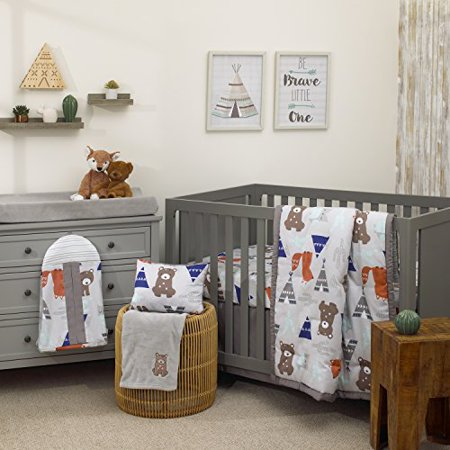 Animal 8 Piece Nursery Crib Bedding