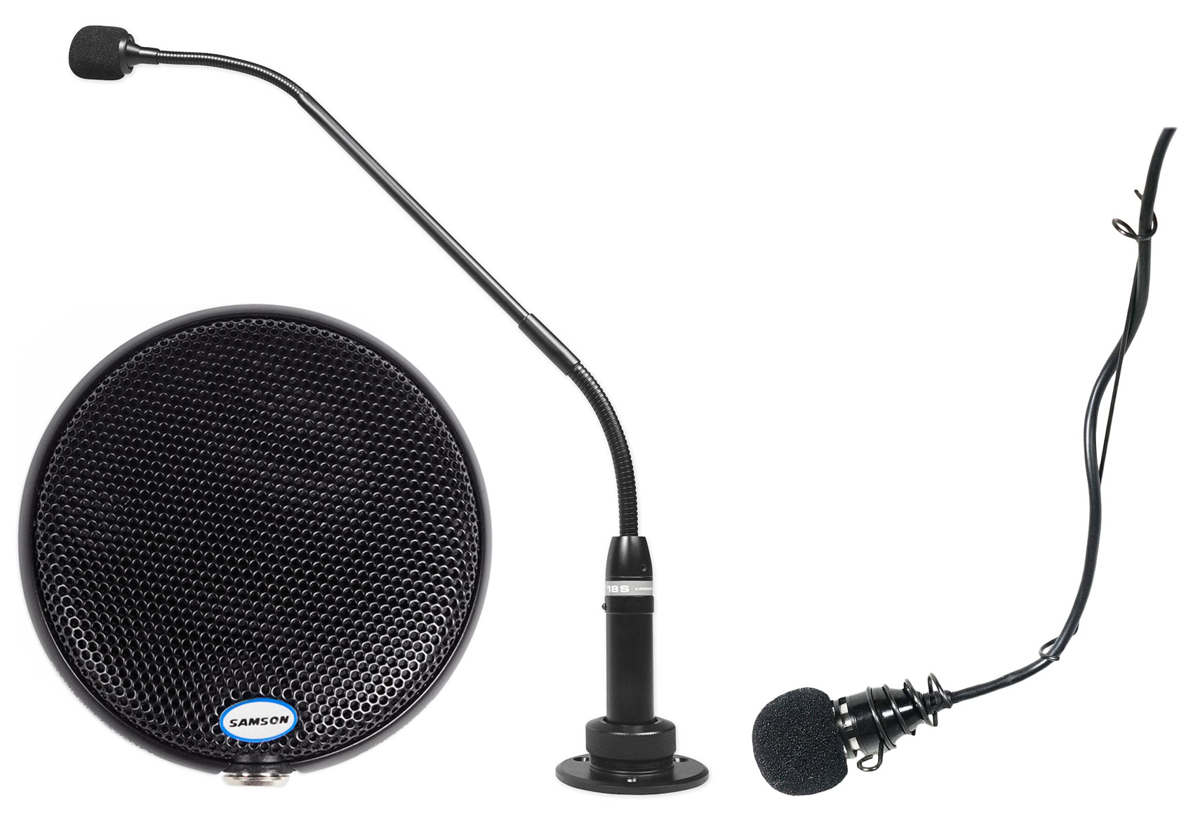 Podium Wired Condenser Microphone PM18S Peavey Black