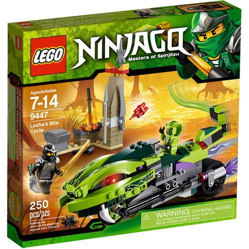 LEGO Ninjago Lasha's Bite Cycle Play Set