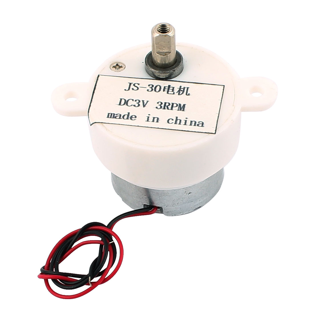 JS-30 DC 3V 3R/Min 2 Wires Connecting Micro Motor for Air Condition Water Heater