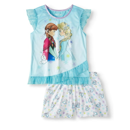 Girls' Frozen 2-Piece Pajama Sleep Set (Frozen Outfits For Girls)