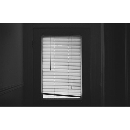 Framed Art For Your Wall Window Blinds Close Dark Room Shut 10x13 Frame