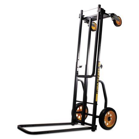 Advantus Multi Cart 8 in 1 Cart 500lb Capacity 32 1 2 x 17 1 2 x 42 1 2 Black