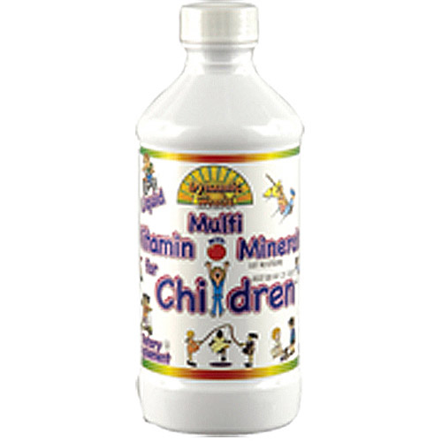 Dynamic Health Multivitamin With Minerals Liquid Supplement For Children, 8 oz