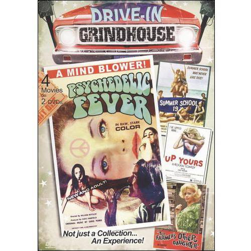 Drive-In Grindhouse: Psychedelic Fever   The Farmer's Other Daughter   Up Yours   Summer School by VIDEO COMMUNICATIONS INC