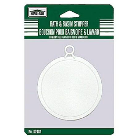 (Bath and Basin Stopper Washroom Tub Plug Bathroom Shower Flat Drain Blocker)