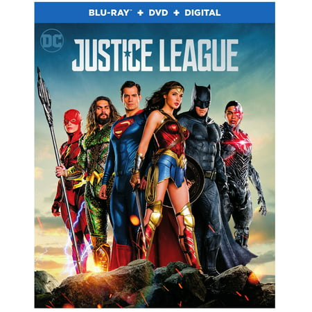 Justice League (2017) (Blu-ray + DVD + Digital) (Pompeii 2017)