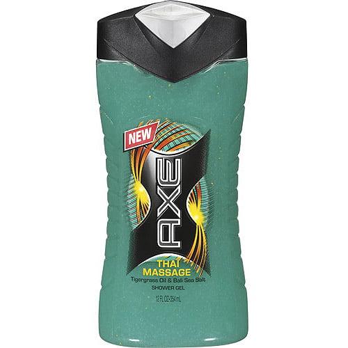 AXE Thai Massage Shower Gel, 12 oz