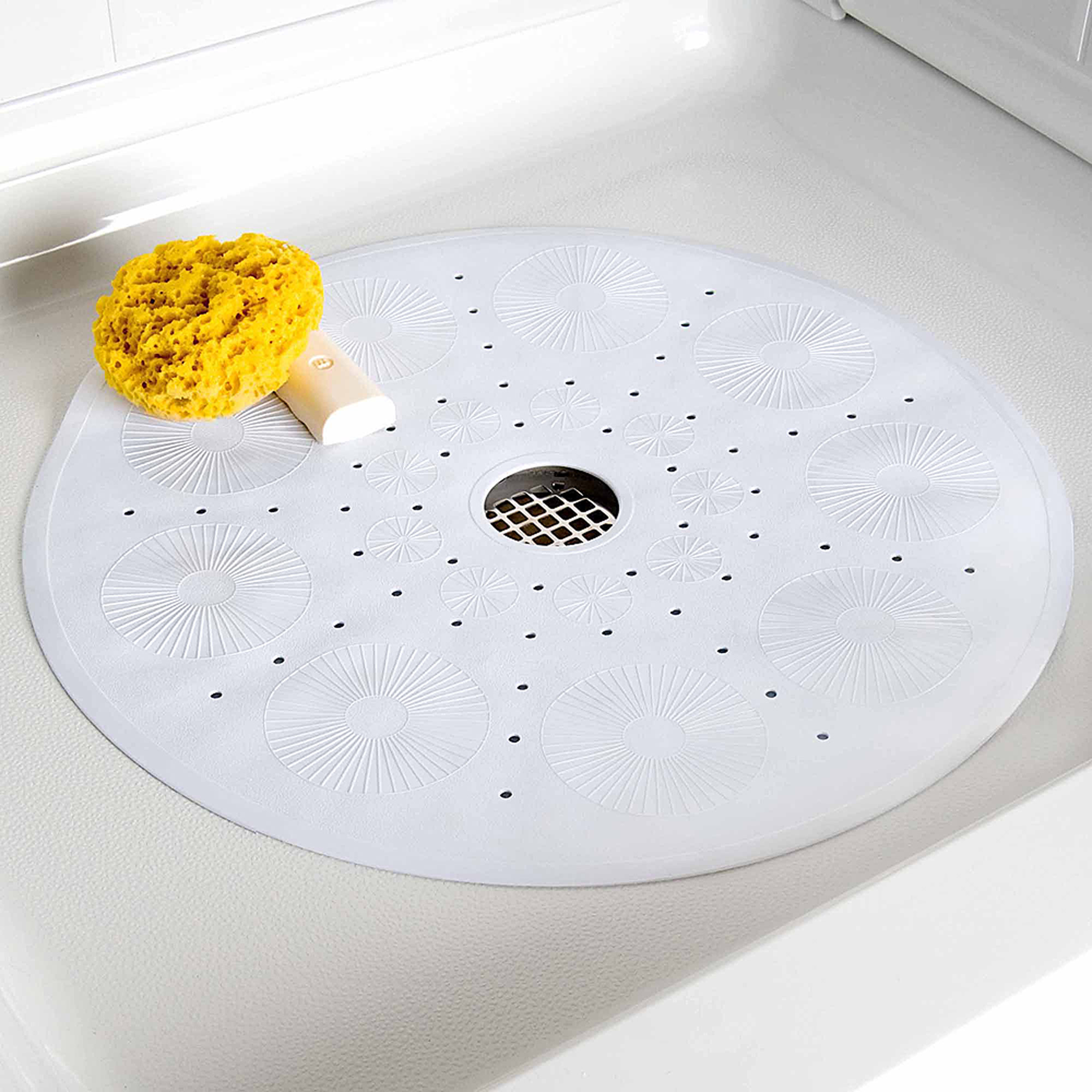 SlipX Solutions Essential Round Shower Mat