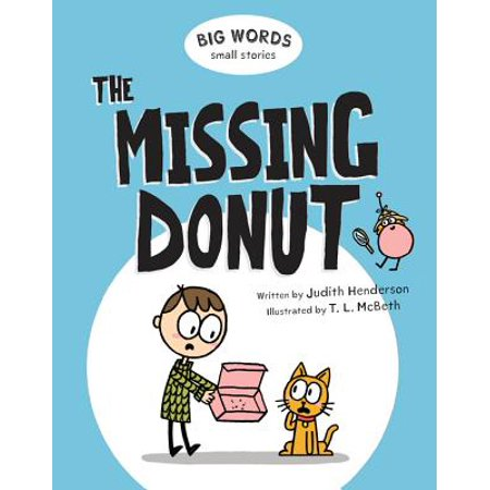 Big Words Small Stories: The Missing Donut (Hardcover)](Missing Halloween Story)