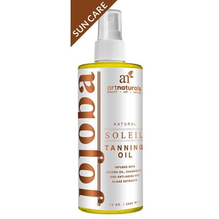 Artnaturals Tanning Oil And Accelerator Spray   8 Fl Oz   Moisturizing And Protective Benefits   Made And Infused With Natural Ingredients   Coconut  Safflower  Avocado And Jojoba Oil