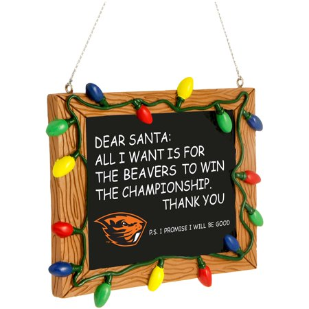 Oregon State Beavers Chalkboard Sign Ornament - No Size Oregon Pate Board