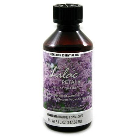 Fragranced Warming Oil 150ml Lilac Petals Fragrance Walmart Com Walmart Com