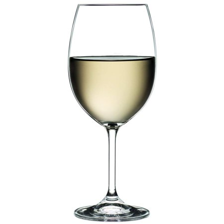 Bohemian Crystal 15 Oz 'Vineyard' Vintage White Wine Goblet Glasses, Set of 6 ()