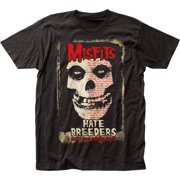 The Misfits Punk Rock Band Hate Breeders Adult Big Print Subway T-Shirt Tee