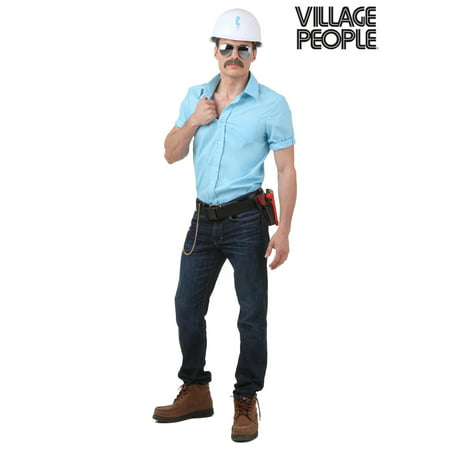 Village People Construction Worker Costume](Famous People Costumes)