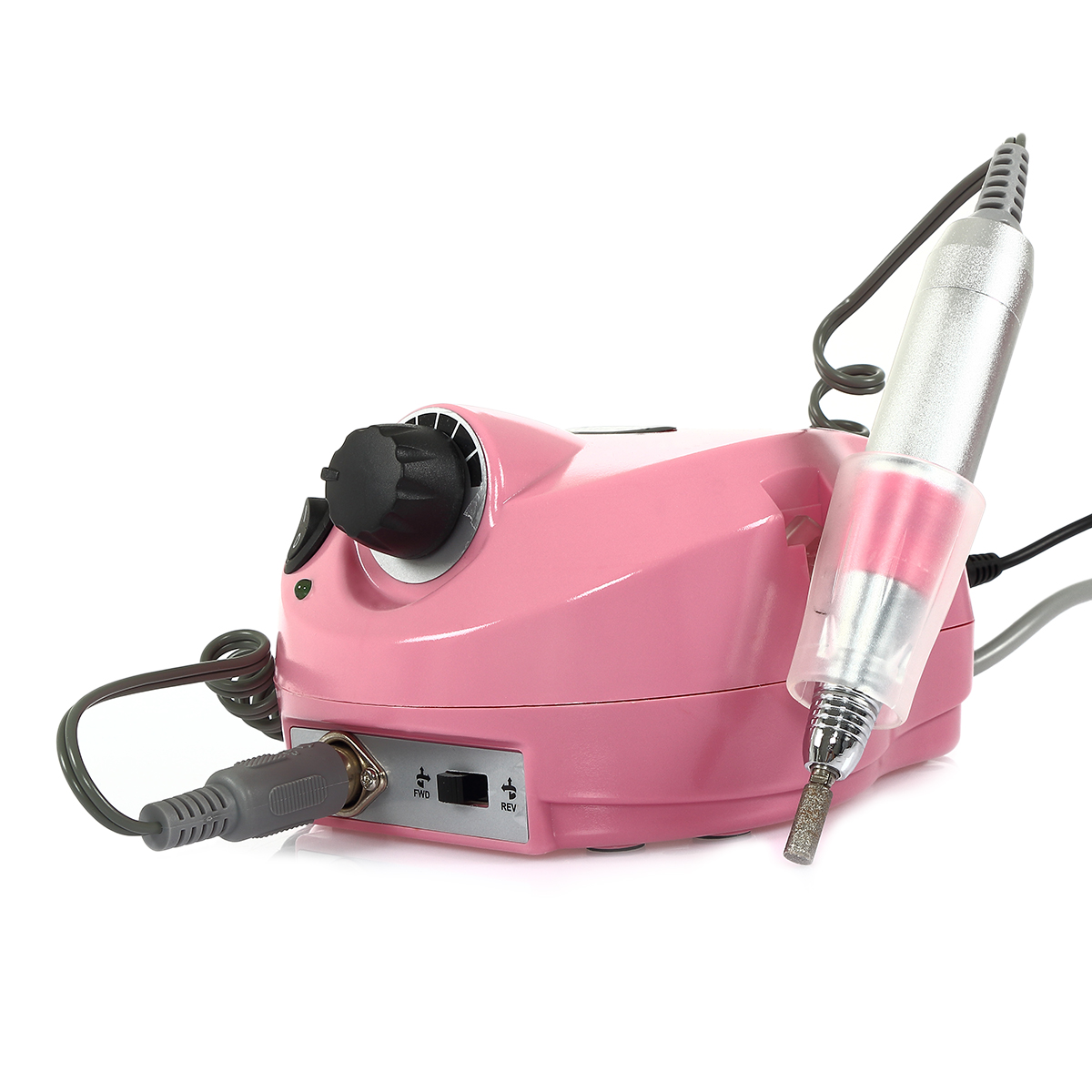 Nail Drill Machine ABS Plastic nail techs Manicure Pedicu...