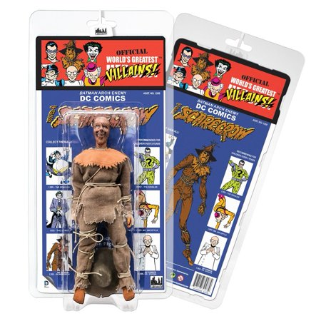 - DC Comics Retro Kresge Style Action Figures Series 3: Scarecrow