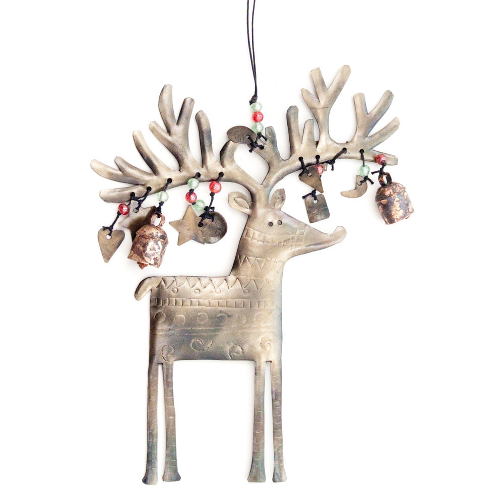 Maharani Imports Mr. Reindeer Wind Chime (India)
