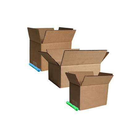 Corrugated Box Strength - 9''x7''x5'' Corrugated Shipping Boxes 25/Pk, ECT 32 Strength Boxes By The Boxery 9''x7''x5'' Corrugated Shipping Boxes