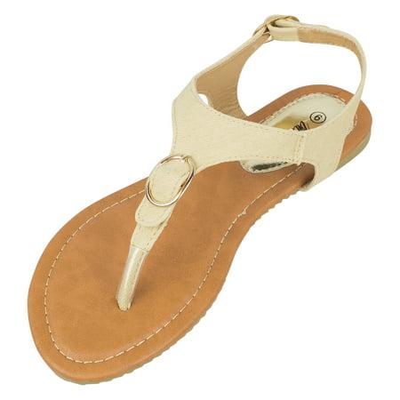 - Victoria K Buckle Fashion Sandals