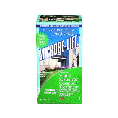 Ecological Laboratories Microbe-Lift Septic and Cesspool Treatment 32 fl. oz