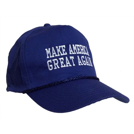 Donald Trump 2016 Make America Great Again Embroidered Rope Hat