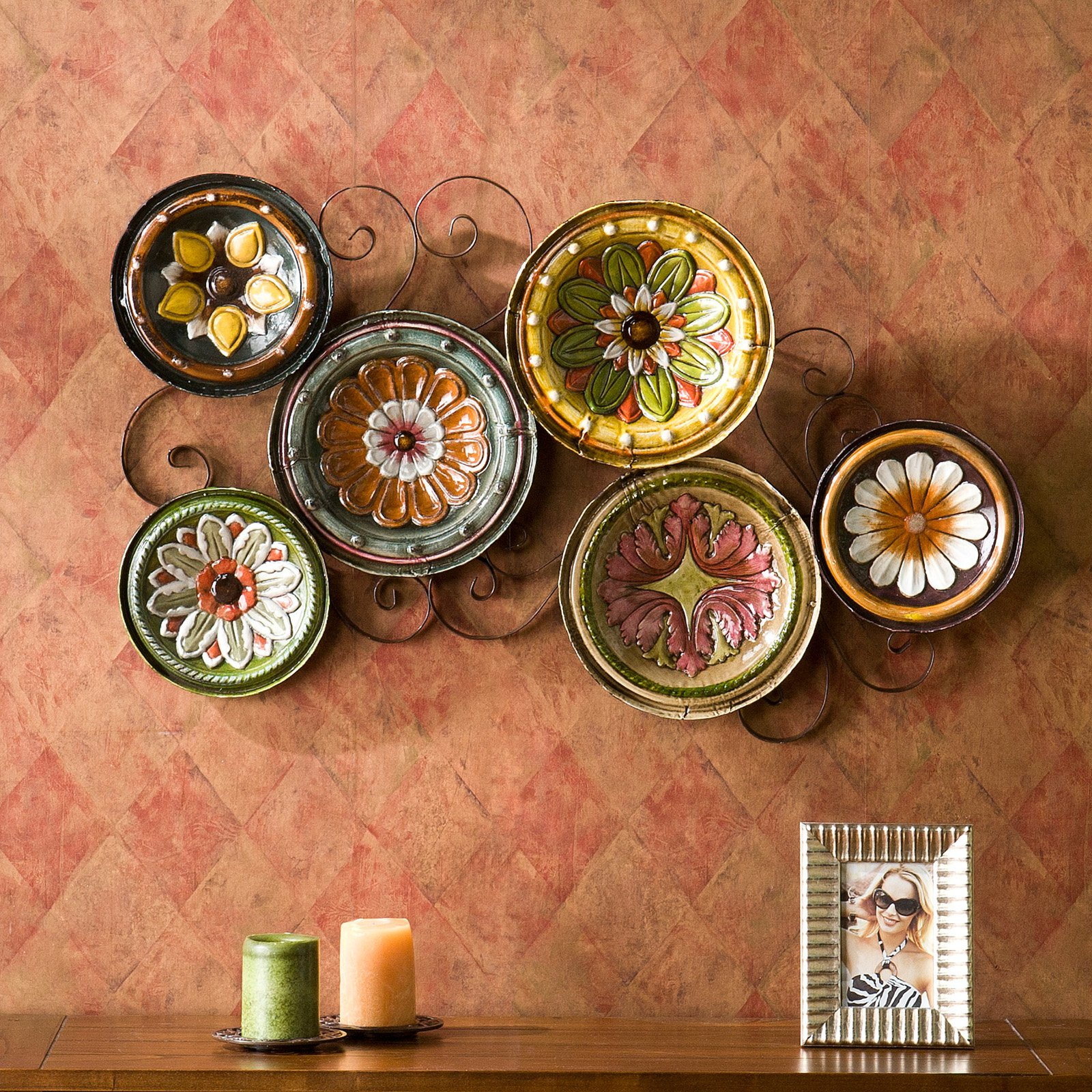 Southern Enterprises Milan Italian Plates Wall Art