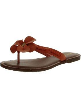 7fd5c9437c88 Product Image Bamboo Women WARNER-31 Flower Thong Sandals