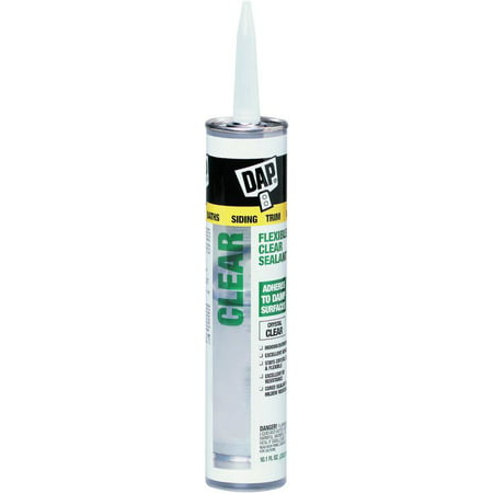 DAP 18384 10.1 oz Flexible Clear Sealant