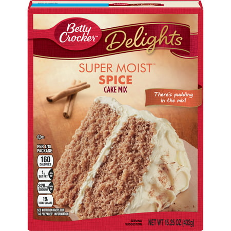 Betty Crocker Super Moist Spice Cake Mix, 15.25 oz