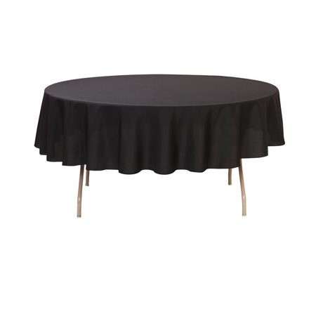 Your Chair Covers - 90 inch Round Polyester Tablecloth - 90 Round Paper Tablecloths