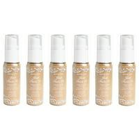 Hard Candy Just Face It Foundation, 776 Porcelain (Pack of 6) + Makeup Blender Sponge