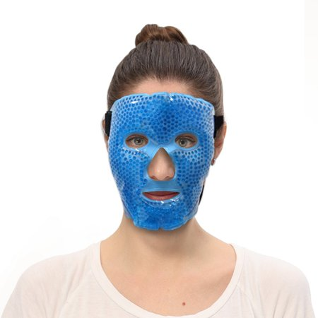 22f328b67 Hot and Cold Therapy Gel Bead Velvet PVC Facial Eye Mask