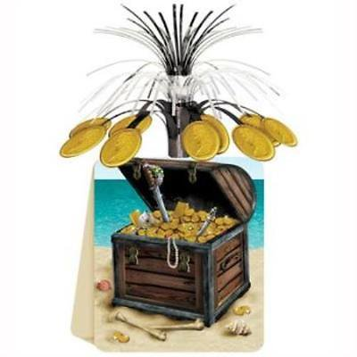 Pleasing Pirate Treasure Chest Centerpiece 2Pk Home Interior And Landscaping Ologienasavecom