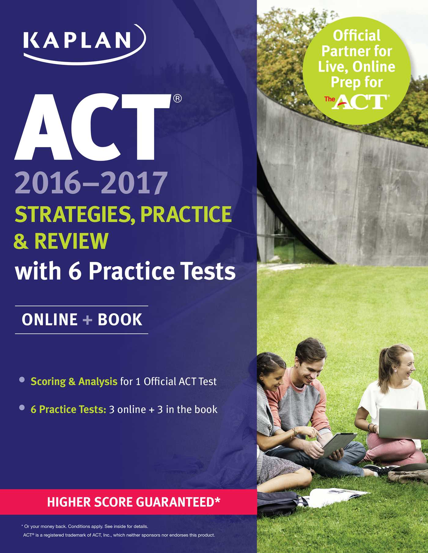 ACT 2016-2017 Strategies, Practice, and Review with 6 Practice Tests :  Online + Book - Walmart.com