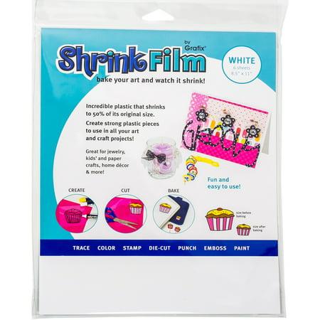 Inkjet Shrink Film (Grafix Shrink Film 8.5