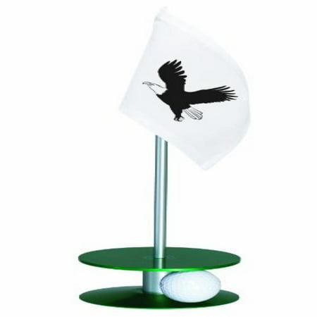 Anne Stone Golf Putt-A-Round Putting Aid Eagle Flag Green Base