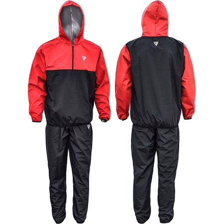 rdx mma sauna sweat suit running non rip track weight loss slimmimg