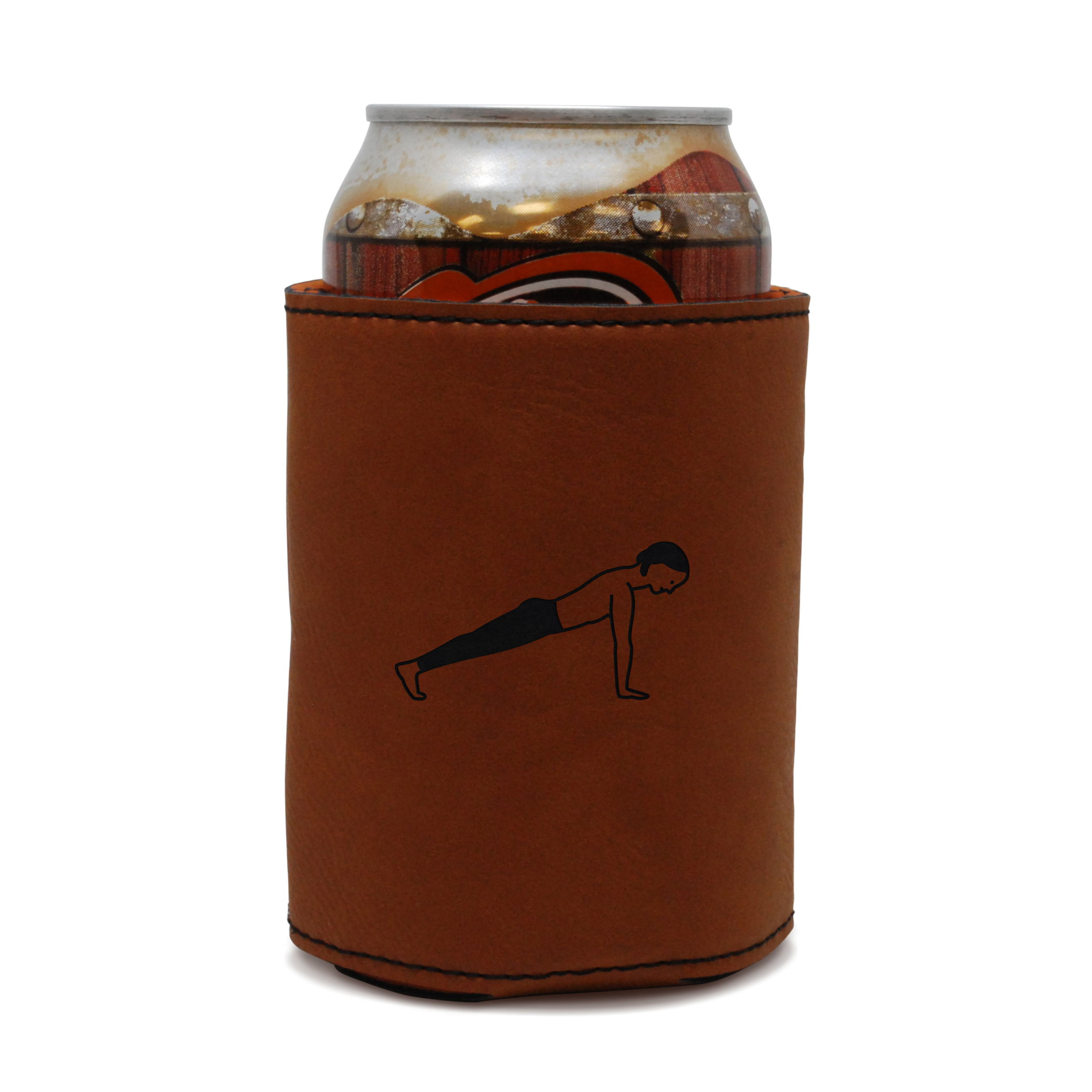 Plank Leather Can Sleeve, Beer Sleeve, Beer Cooler, Beer Hugger