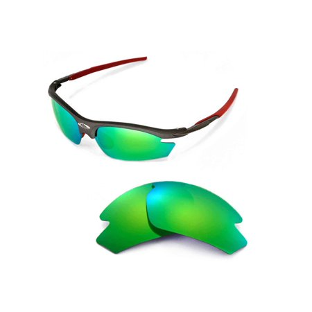 Walleva Emerald Polarized Replacement Lenses for Rudy Project Rydon (Rudy Rydon Sunglasses)
