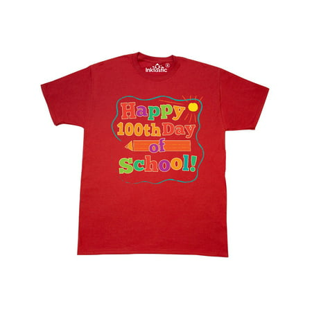 Happy 100th Day Of School T-Shirt](100th Day Shirt Ideas)